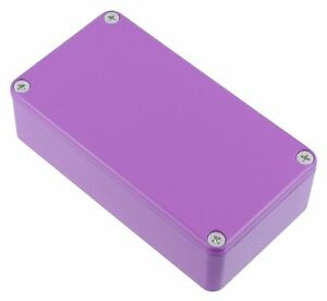 Hammond-Lila-Druckguss-Stompbox-Gehaeuse-112-x-60-x-31mm-1590BPR