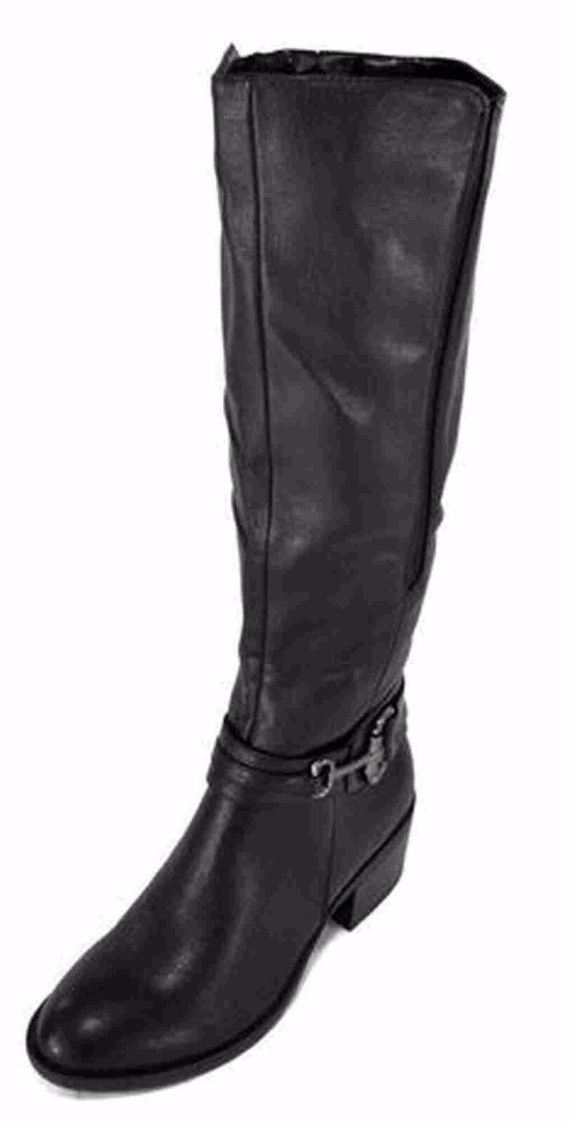 New! Women's Sole Senseability KRIZIA Tall Riding Boot in Black 66312 E23
