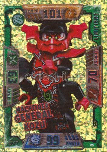 Lego Ninjago Série 2 cartes de collection-le17-Puissant Général Kozu-Limited Edition