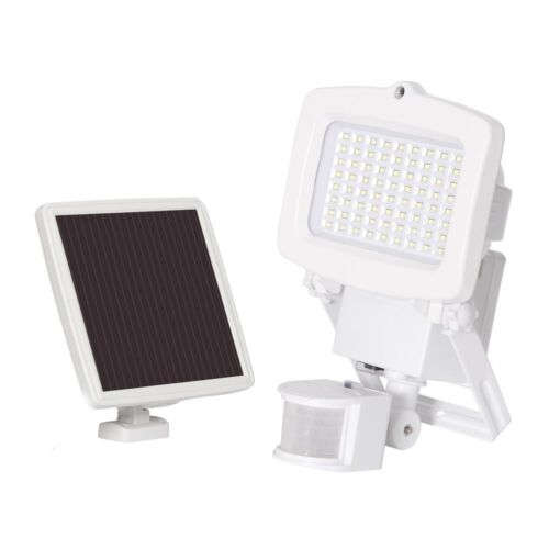 Outdoor Flood Light Integrated LED Solar Powered 1500 Lumens Motion Activated
