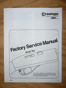 Crosman-766-Service-Manual-With-Exploded-View-amp-Parts-List