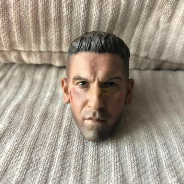 Free Shipping 1/6 Scale BD Ver Jon Bernthal Punisher Frank Castle Head Sculpt OO