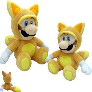 Nintendo Super Mario Luigi Fox version Peluche Plush 33 cm. TOGETHER