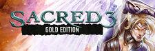 Sacred 3 Gold-Steam chiave [PC Windows]