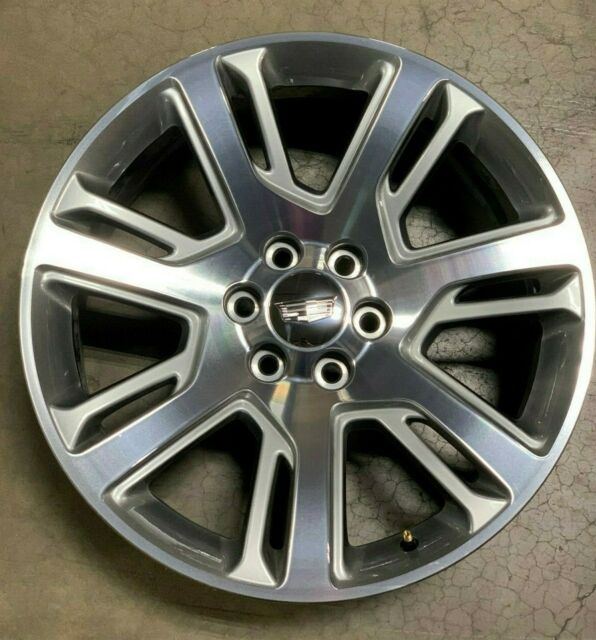 "OEM Cadillac Escalade 22"" Wheel, Option Code RVA, Part"