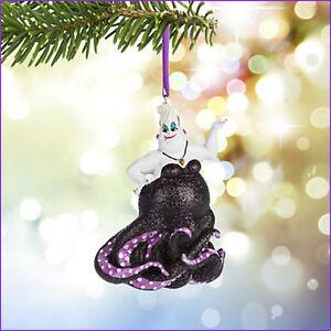 image is loading new disney parks ursula glitter christmas ornament little - Little Mermaid Christmas Ornaments