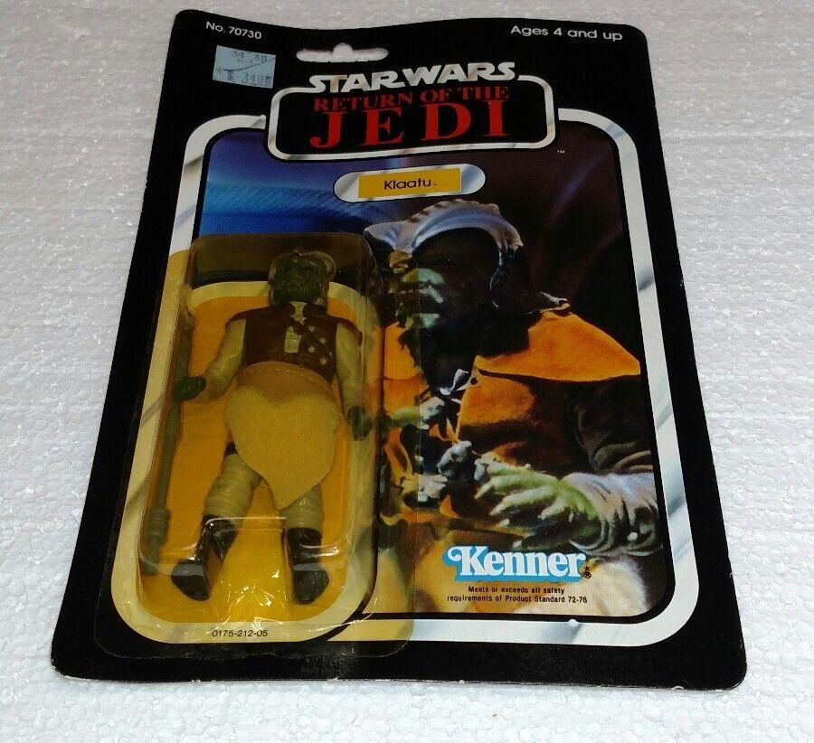 De colección Guerra de las galaxias Klaatu retorno de las Jedi retorno de las Jedi KENNER 1983 Totalmente Nuevo