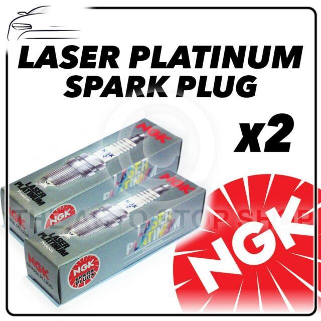 2x NGK SPARK PLUGS Part Number PLKR7B8E Stock No. 94716 New Platinum SPARKPLUGS
