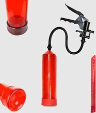Vakuum Pumpe Potenzpumpe Penispumpe Scherengriffpumpe Scala FirePump ROT 014