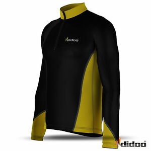 Mens-Cycling-Jersey-Long-Sleeve-Bike-Top-Outdoor-Wear-Sports-New-Biking-Shirt