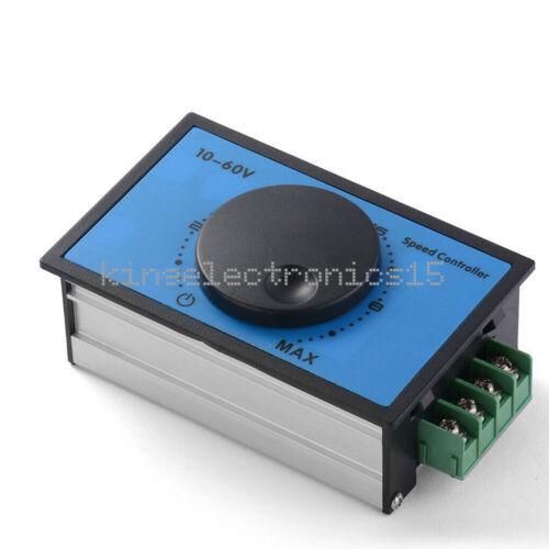 1X DC 10-60V 12V 24V 48V 20A PWM DC Motor Speed Controller Soft Start Switch
