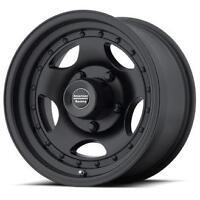 4 15 Inch Ar23 15x8 F100 F150 Truck Black Rims Wheels 5x5.5 5x139.7