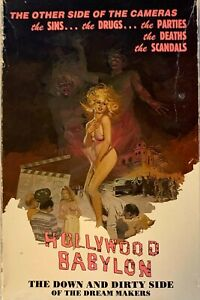 Hollywood Babylon: The Down and Dirty Side of the Dreammakers VHS RARE OOP New