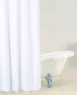 FREE P/&P 180cm x 180cm Blue Canyon Peva Shower Curtain Blue Stripe