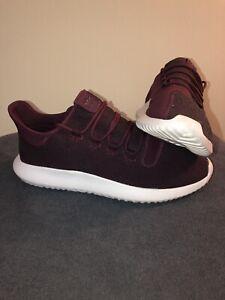 adidas-Originals-Tubular-Shadow-Men-039-s-Running-Shoes-Maroon-Vapour-Grey-White