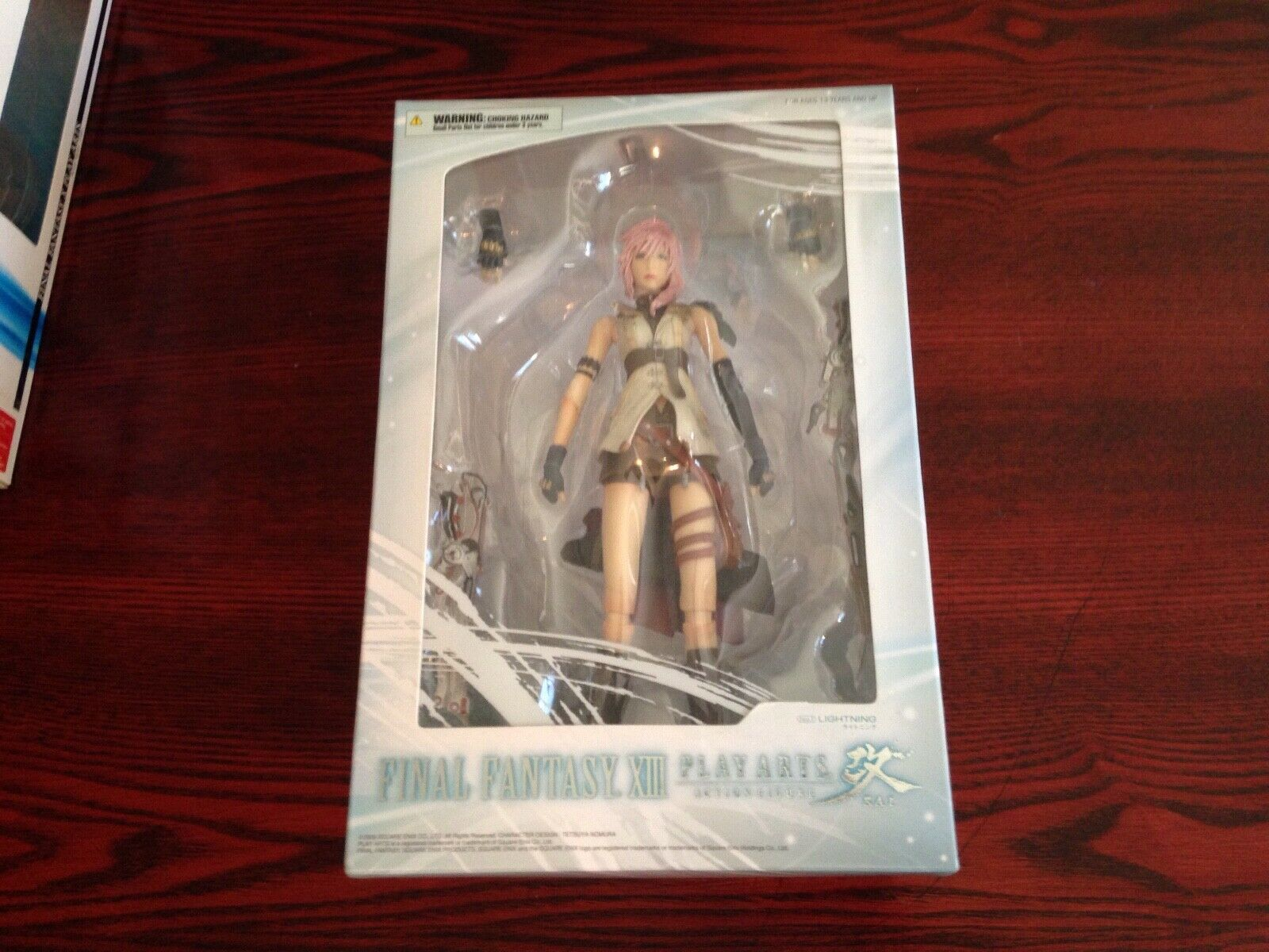 Final Fantasy XIII Play Arts Kai Lightning 9in Action Figure Square Enix Sealed