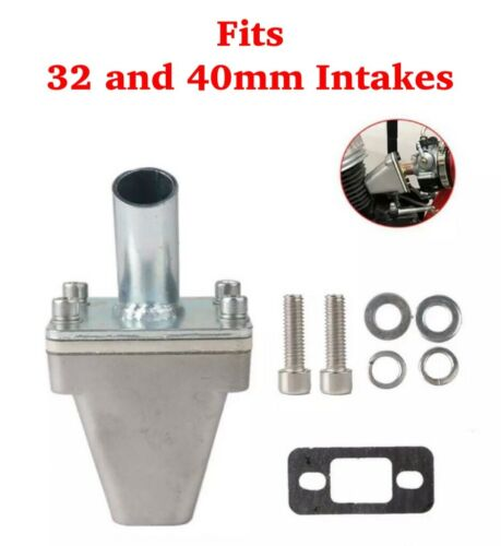32mm+40mm REED Valve INTAKE w//19mm AND 23mm Manifold for 2-stroke Motorized Bike
