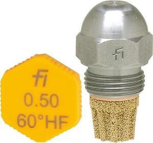Ölbrenner Danfoss Düsen S  0,45 0,55 0,60 0,65 0,75 80° 60° 45°