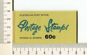 41140) AUSTRALIA 1966 MNH** QEII 4c (x15) n.385 Booklet SG B39E -Imperf L & R