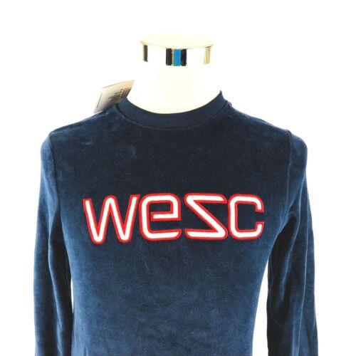 WeSC Crew Neck Sweatshirt Overlay Golden Camel  WESC
