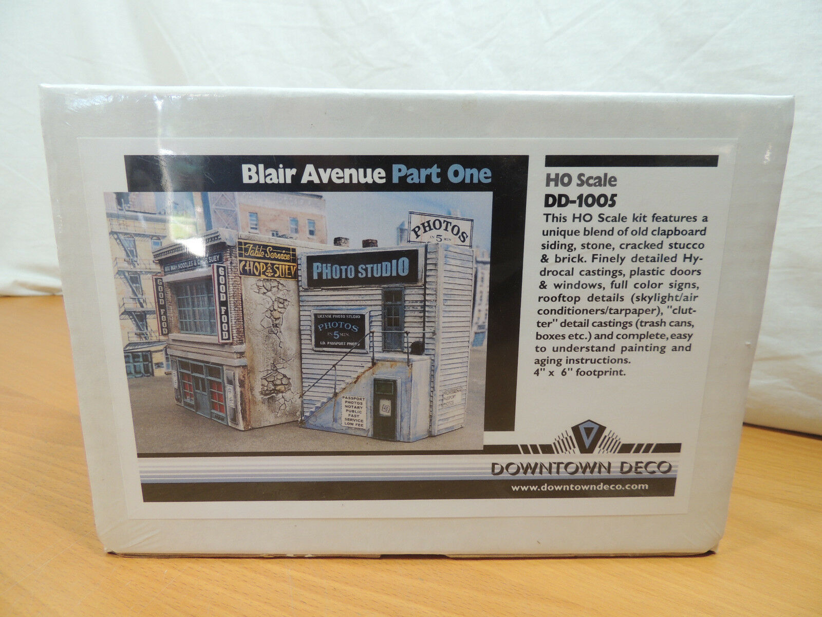 Downtown Deco HO Scale Blair Ave Part One DD-1005 Building Kit