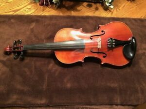 Details about Vintage Violin Nicholas Amati Remake Late 1800s Early 1900s