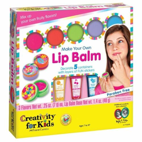 Arts And Crafts For Girls Make Your Own Lip Balm Kit Toys Age 7 8 9 10 Gift Kids