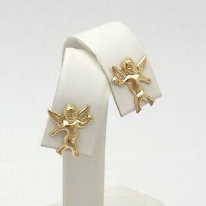 Guardian Angel /& Cross Earrings