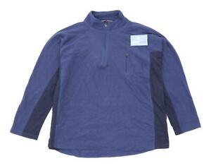 Peter-Storm-Mens-Size-L-Fleece-Blend-Multi-Coloured-Half-Zip-Jacket