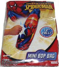 "Spiderman Mini Bop Bag 12"" / Marvel Bop Bag Spiderman NEW!"