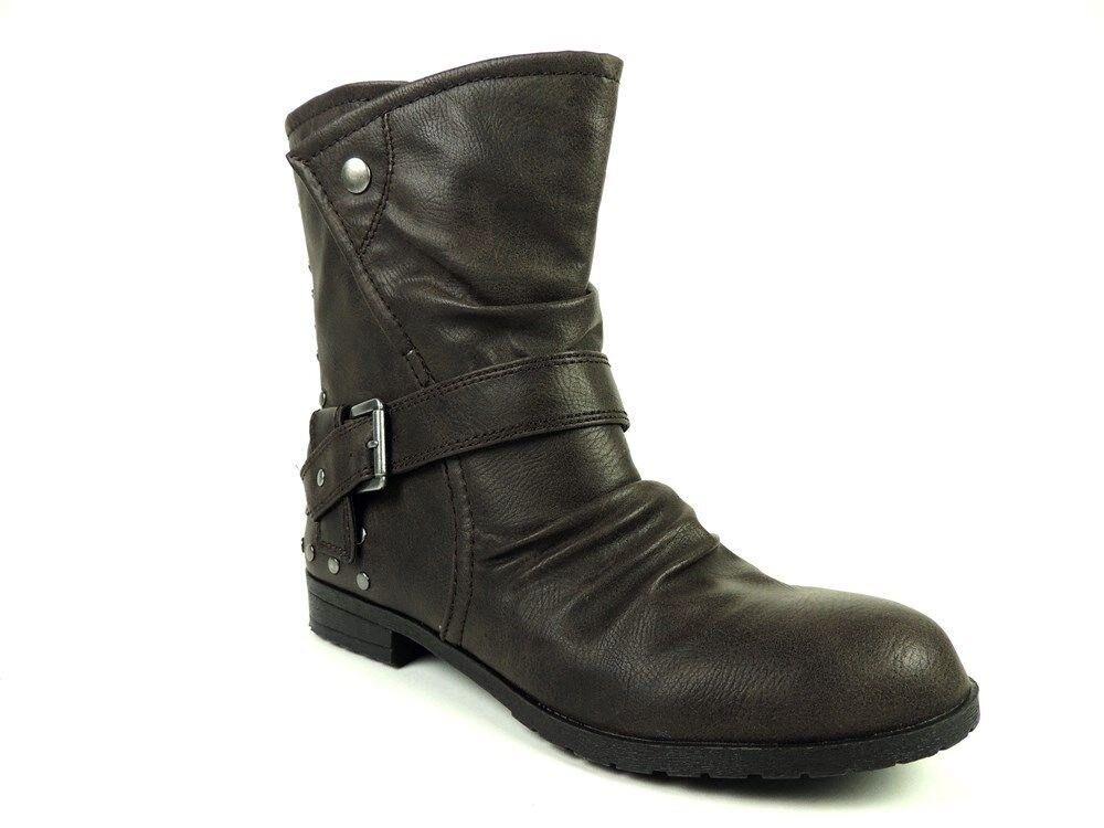 93c031d7fd48e Material Girl Women's Lark Ankle Booties Brown M Size 8.5 nrhvrv1872 ...