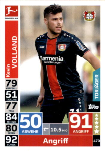 Topps match coronó Action 18//19-470-Kevin Volland-torjäger