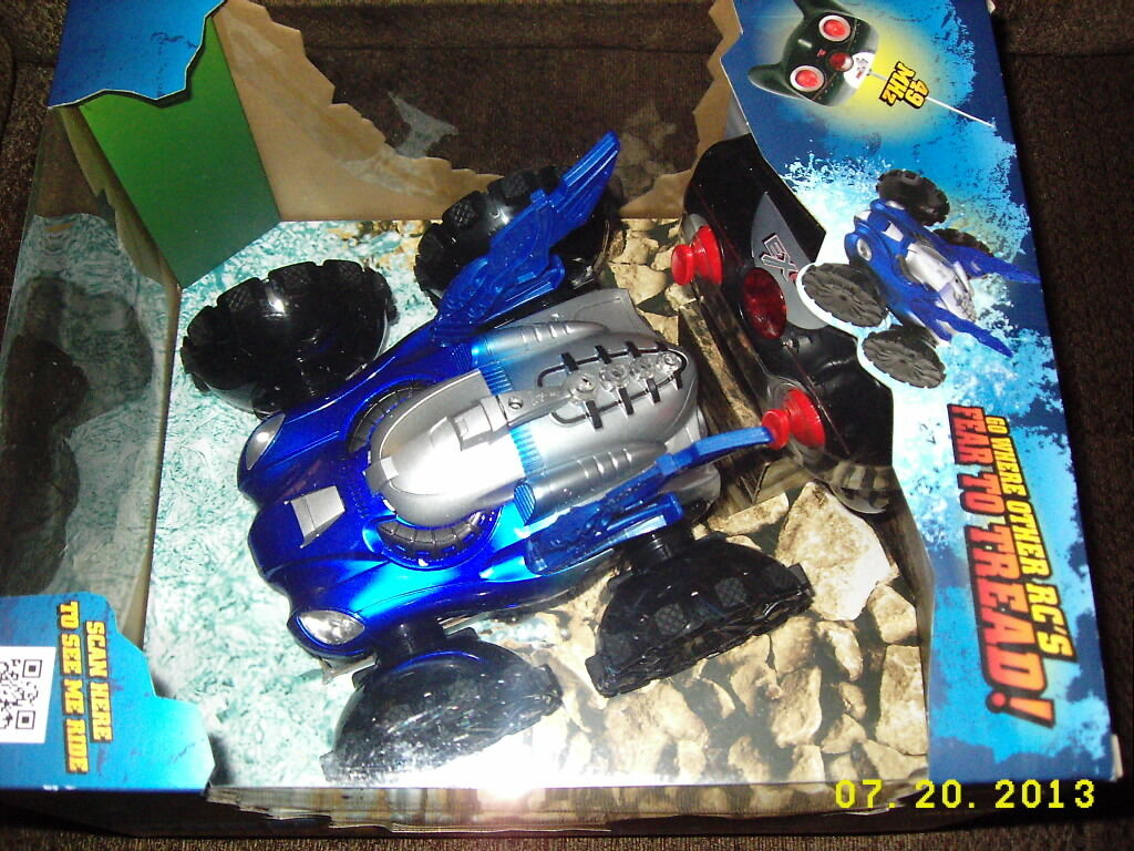 EXRC Hydro Terra RC Radio Control Amphibious Assault Vehicle-Le  e Water  nuovo  outlet online economico