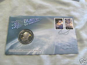 2007-SPACE-MEDAL-amp-STAMPED-COVER-50-YEARS