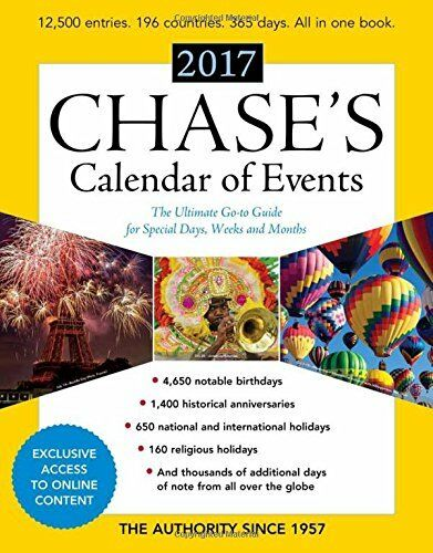 Chases Calendar Of Events 2017 The Ultimate Go To Guide For