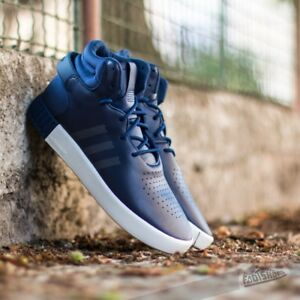 Adidas Originals tubular Invader Azul oscuro hombres formadores diferentes