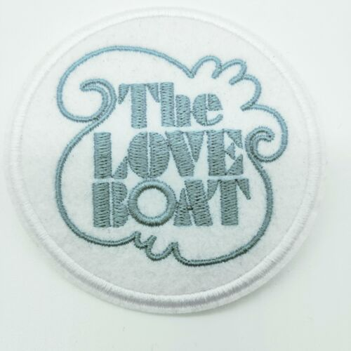"LOVE BOAT PATCH 3/"" NOSTALGIA TELEVISION SERIES SEA SHIP"