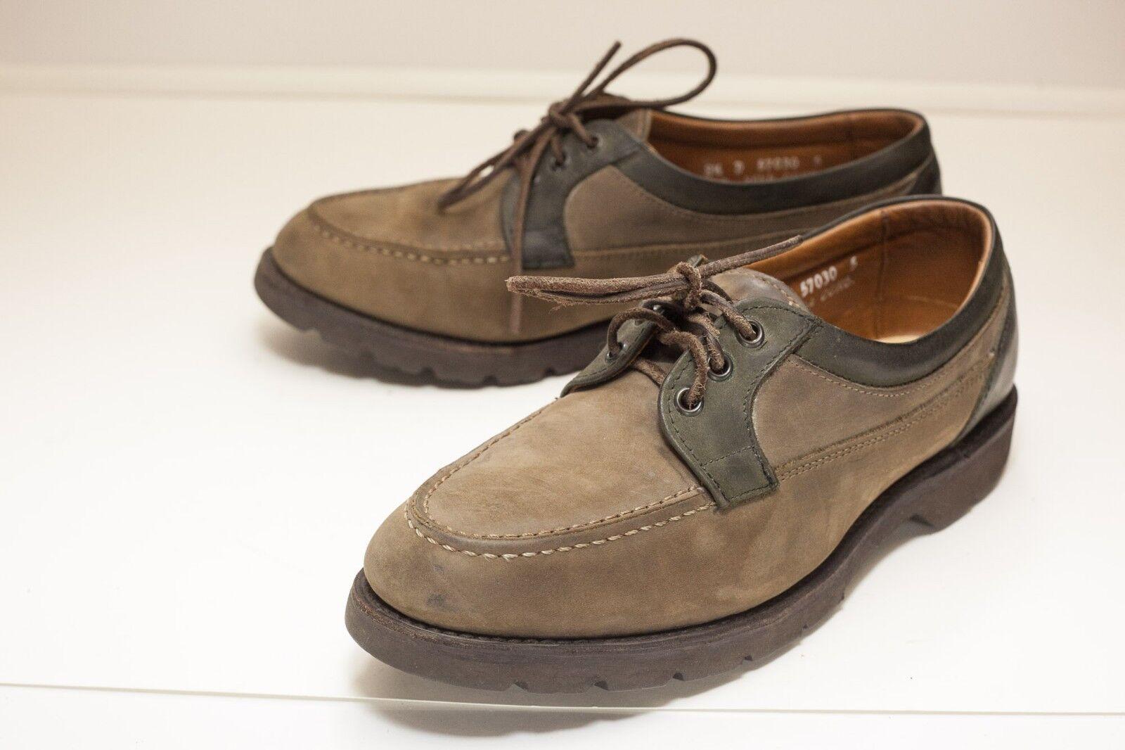 Scarpe casual da uomo  Allen Edmonds 8.5 D Brown Casual Shoes - Missing Insoles.