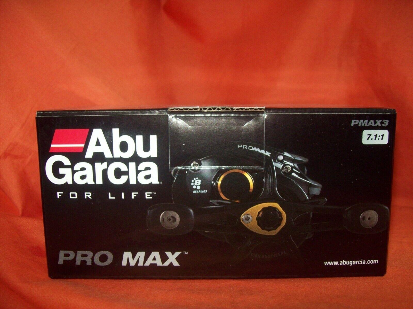 ABU GARCIA PRO MAX 7.1 1 GR PMAX3 RIGHT HANDED 1365359 BAITCASTER