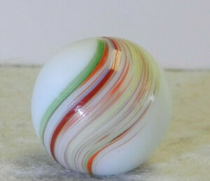 12063m-Colorful-Vintage-German-Handmade-Banded-Opaque-Marble-70-Inches