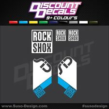 RockShox SID 2010 Style Decals / Stickers - 2 Colour Designer Pack