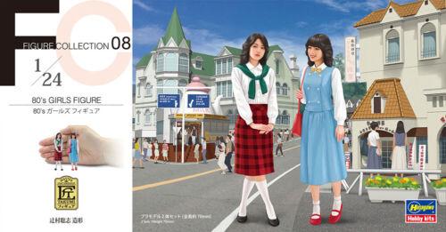 80/'s Girls Figure Hasegawa 1//24 FC08 2 Figures 29108