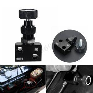 US-Adjustable-Brake-Proportioning-Bias-Valve-Knob-Style-Suit-Disc-Drum-1-8-NPT