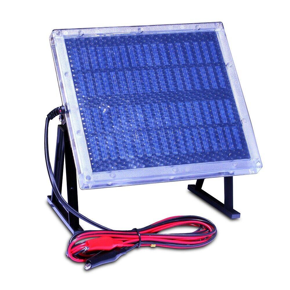 12V 12 Volt Solar Panel Charger with Alligator Clips