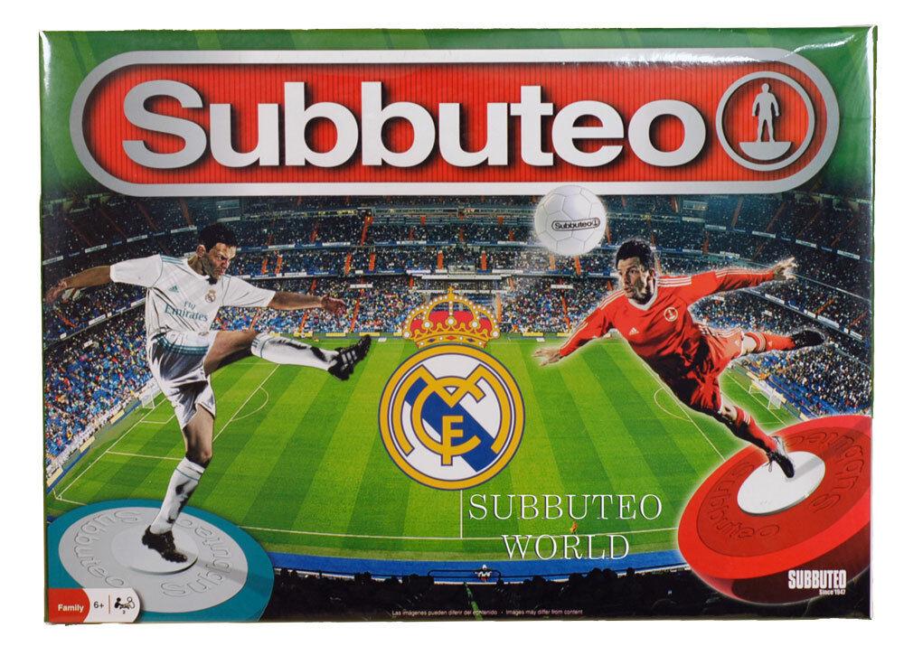 2018 LICENSED REAL MADRID SUBBUTEO BOX SET. PAUL LAMOND TABLE SOCCER - FOOTBALL.