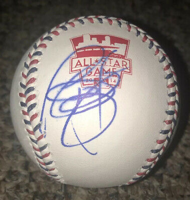 Todd Frazier Autographed 2014 All Star Baseball