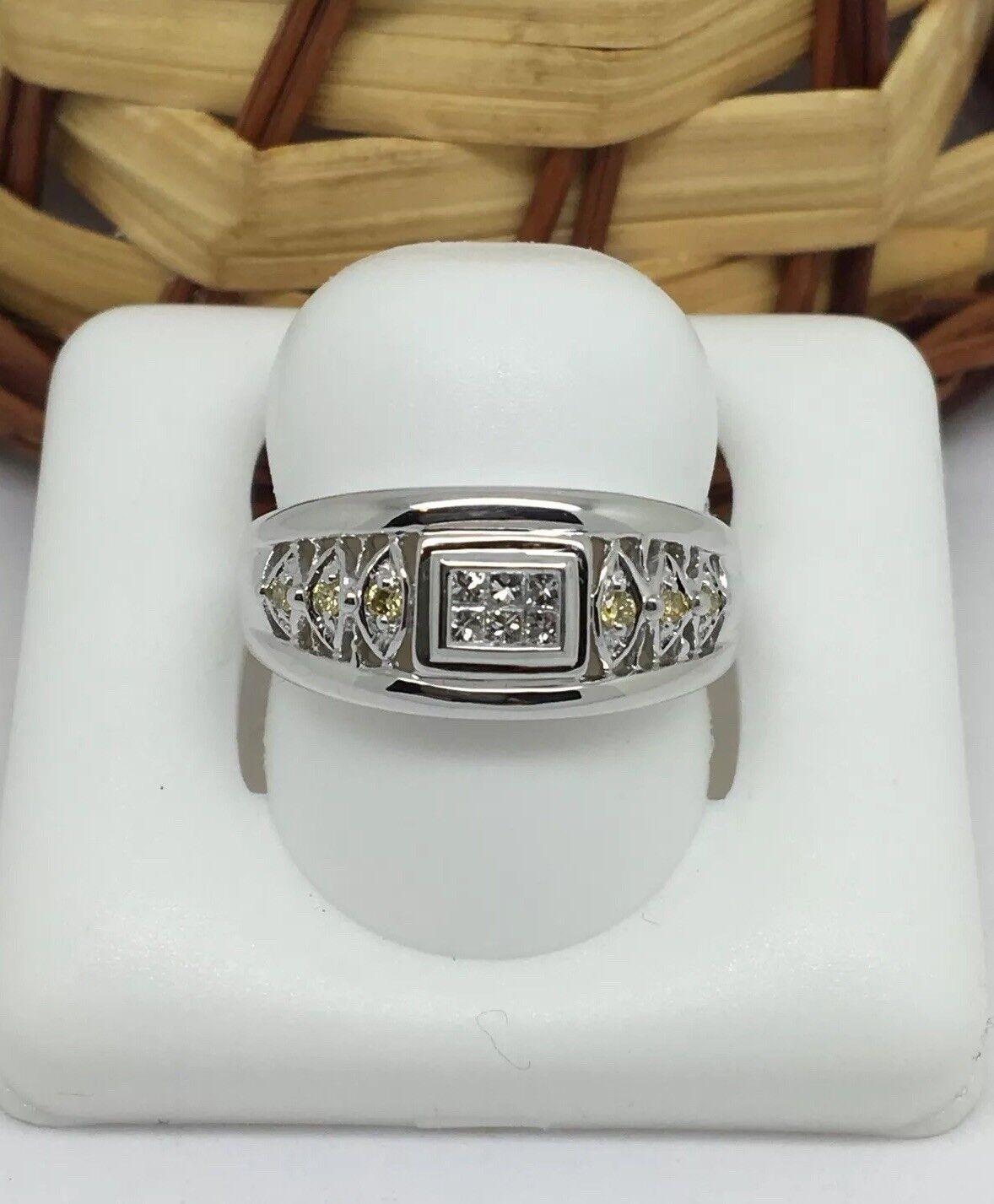 e2364974484ab 18K White gold Natural Diamond Ring vtrg3b6f14233-Diamond