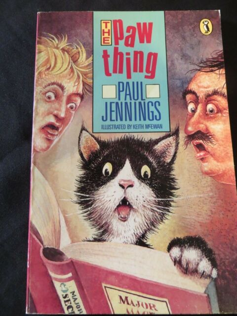 The Paw Thing by Paul Jennings & Keith McEwan PB 1989 1st ed., OOP EUC