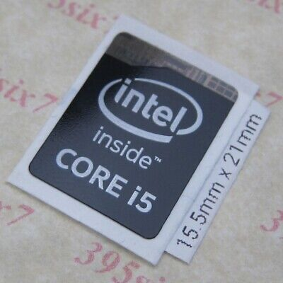 Intel inside Sticker Haswell Extreme 15.5mm x 21mm 10 pcs