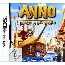 Nintendo DS NDS DSI Lite Spiel ANNO - Erschaffe eine neue Welt NEU